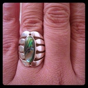 Jewelry - Sterling Silver (925) Ring With Iredescent Color